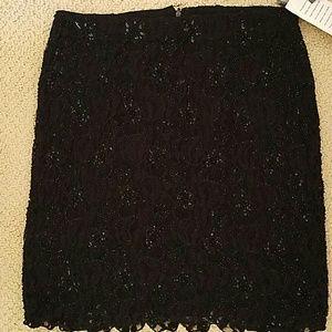 Sassy Black-Sequined Skirt